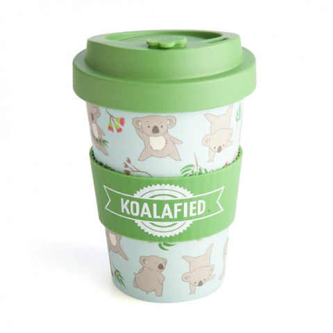 Australia Koala Eco To-Go Bamboo Cup Travel Mug