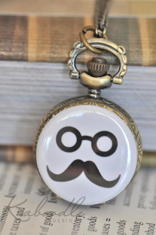 Mystery Man - Watch Necklace