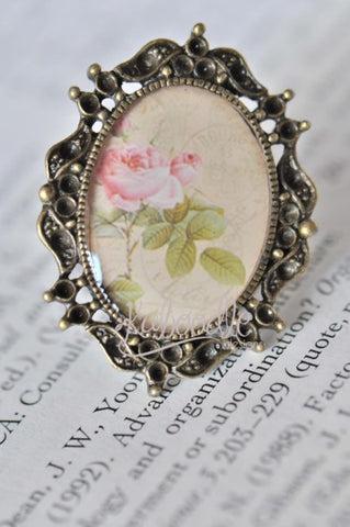 Vintage Rose - Vintage Inspired Ring