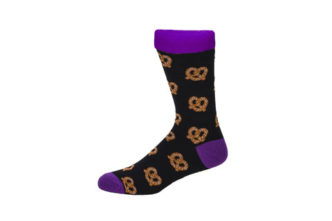 Novelty Fun Socks - Pretzel