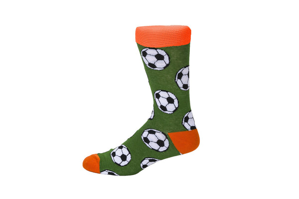 Novelty Fun Socks - Soccer Ball