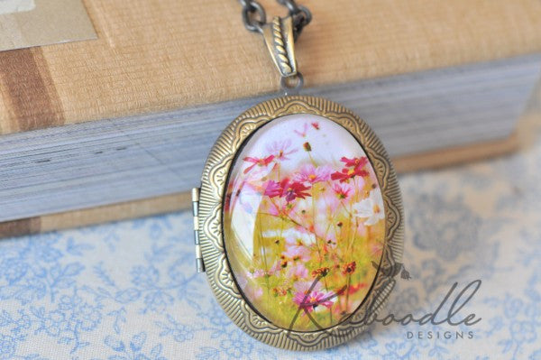 Take a Pick - Large Oval Locket