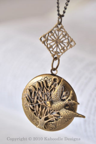 Tree of Peace - Locket Necklace