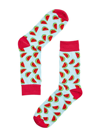 Novelty Fun Socks - Watermelon