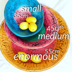 wooden bowl sizes