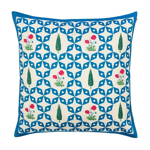 Cushion Cover Flowers & Ferns
