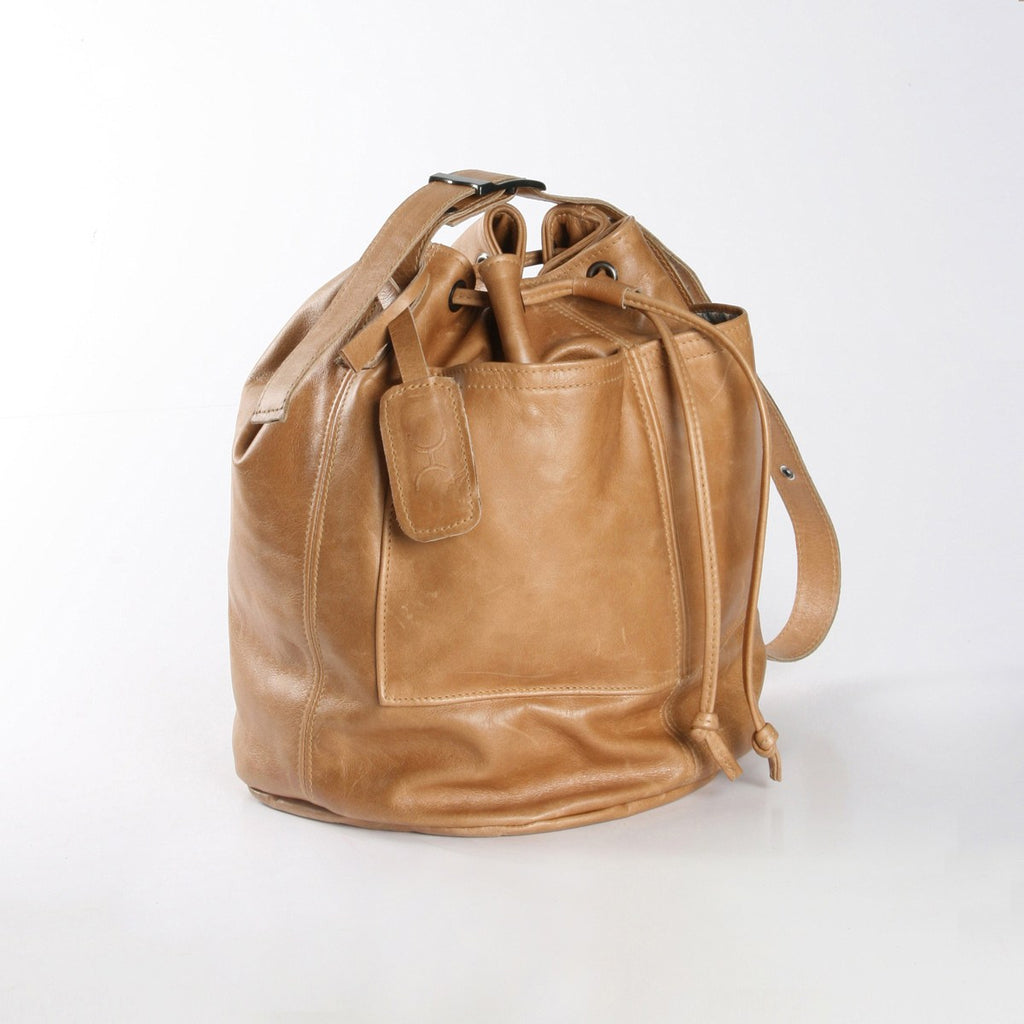 Thandana Bucket Bag - Leather - Hazelnut