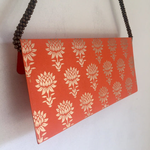 Khadi - Envelopes - Embossed - Lotus Design