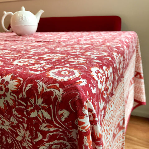 Table Cloth - Ruby Red
