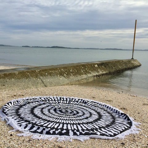 Roundie  Mandala Throw  - Aspara