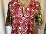 SILK TUNIC DRESS - Size M/L(12) - Untold Story Collection - Aztec