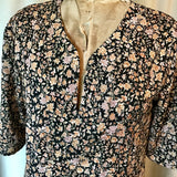SILK TUNIC DRESS - Size S/M(10) - Untold Story Collection - Rusty roses