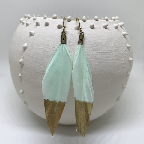Feather Earrings - Fresh
