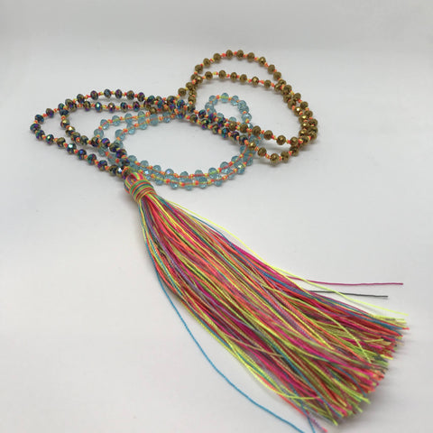 Tassel Necklace - Wish