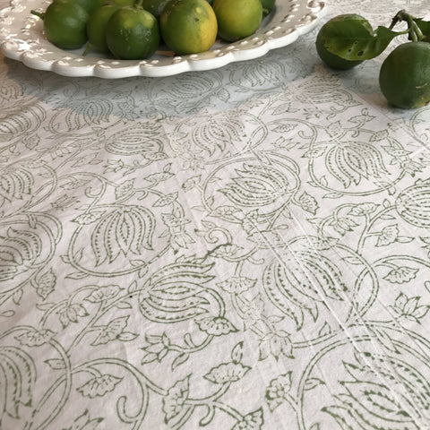 Table Cloth - Apple blossom