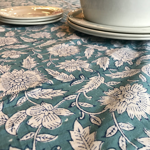 Table Cloth - Turquoise