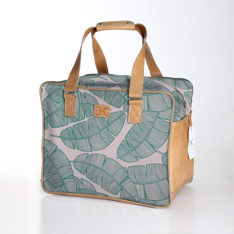 Thandana Large Weekender Bag - Shelly Beach Green