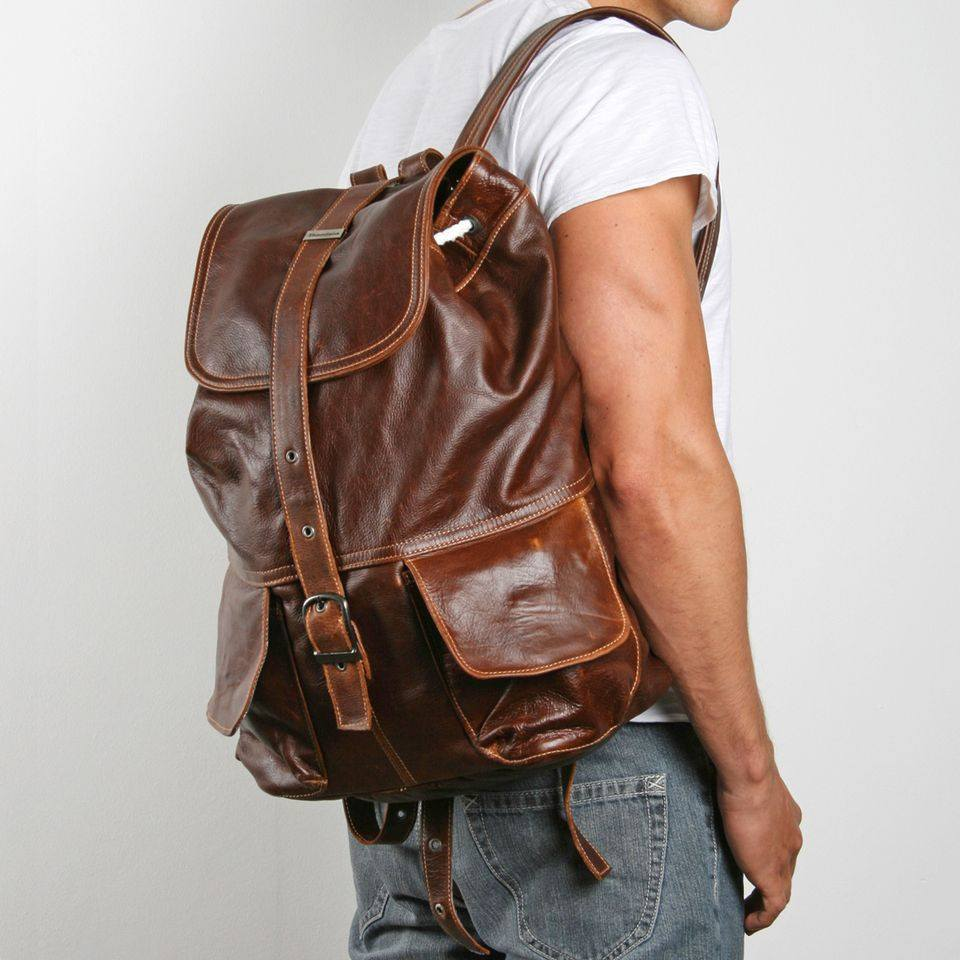 Thandana Mason Backpack - Leather