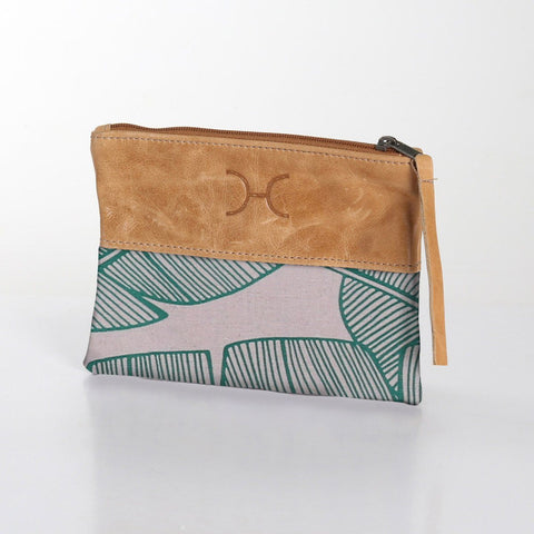 Thandana Pouch - Shelly Beach - Emerald
