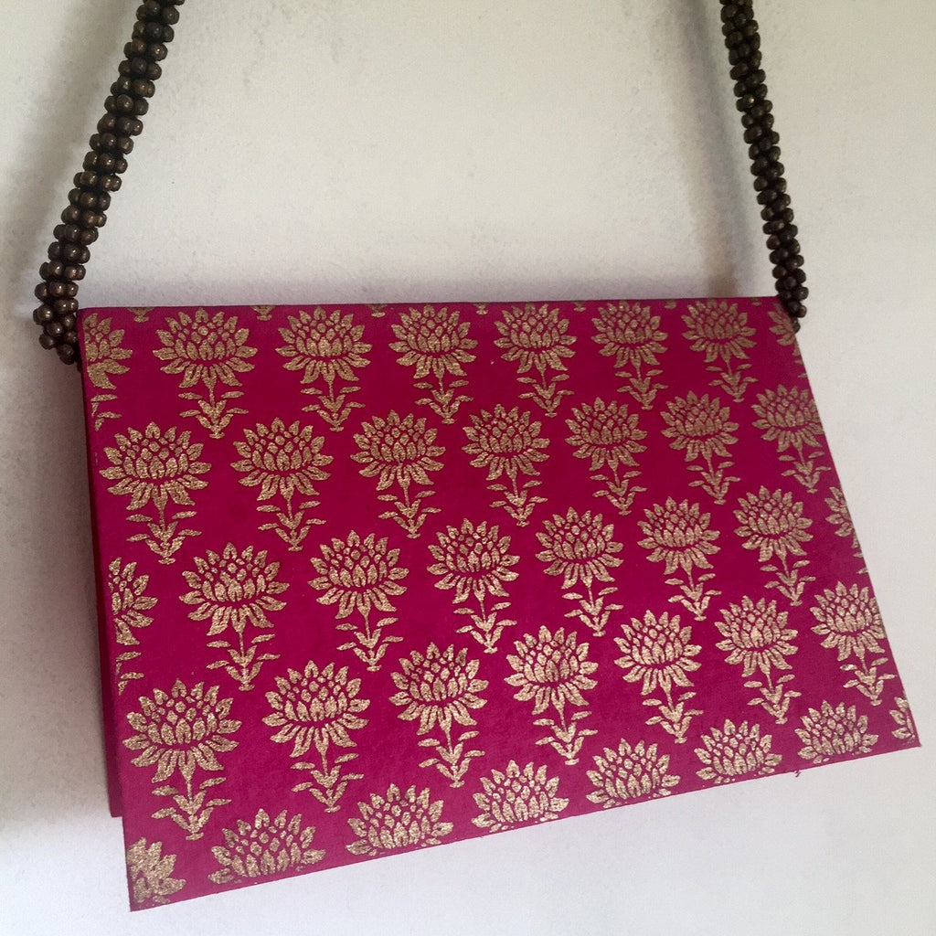 Khadi - Gift Card sets - Blank - Lotus design