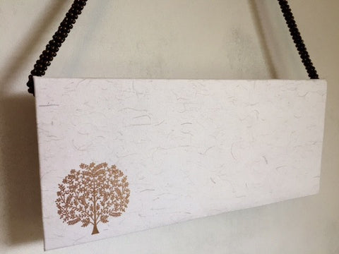 Khadi - Envelopes - Embossed - Tree of life Design