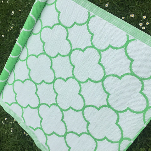 Outdoor Mat - Green Gate  120x180cm