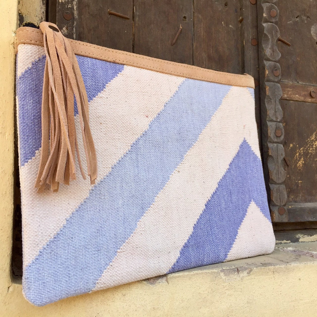 Pouch Bag - Chevron