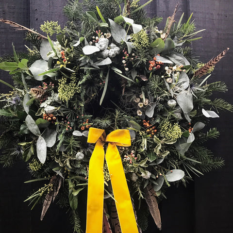 Christmas Wreath - evening course