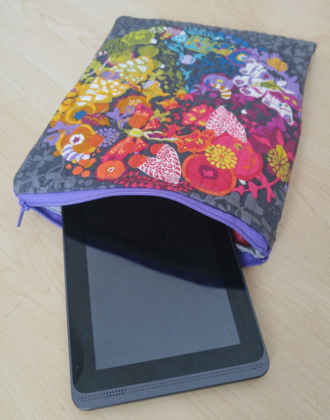 Ex Libris Quilted iPad or Tablet Case