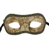 RedSkyTrader Aged Finish Venetian Party Mask
