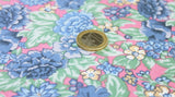 Coupon tissu popeline de coton Liberty fleuri Harvey Collection  *** 1.50 mètres *** rfe3030