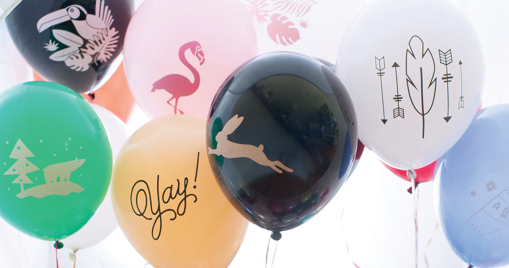 Revel & Co. party balloons