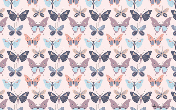 Revel & Co. April butterfly wallpaper for desktops