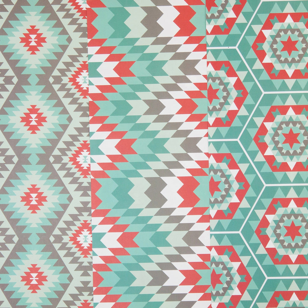Zuni Tribal Gift Wrap by Revel & Co.