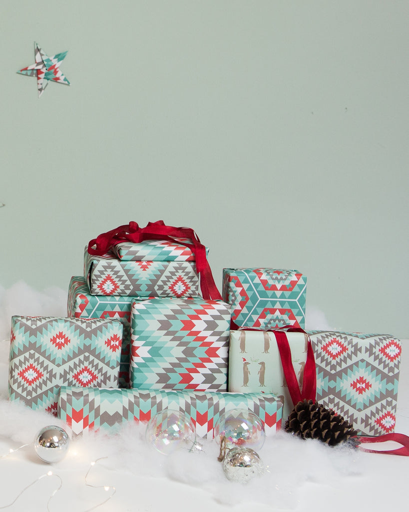 Christmas wrapping paper by Revel & Co.