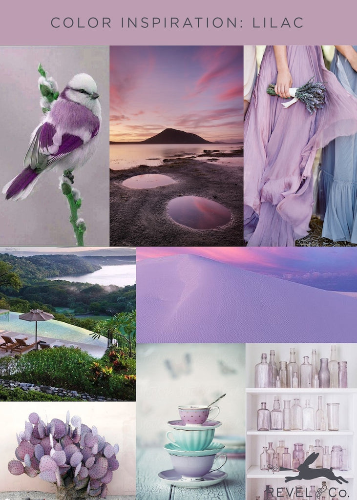 Revel & Co.'s Color Inspiration: Lilac