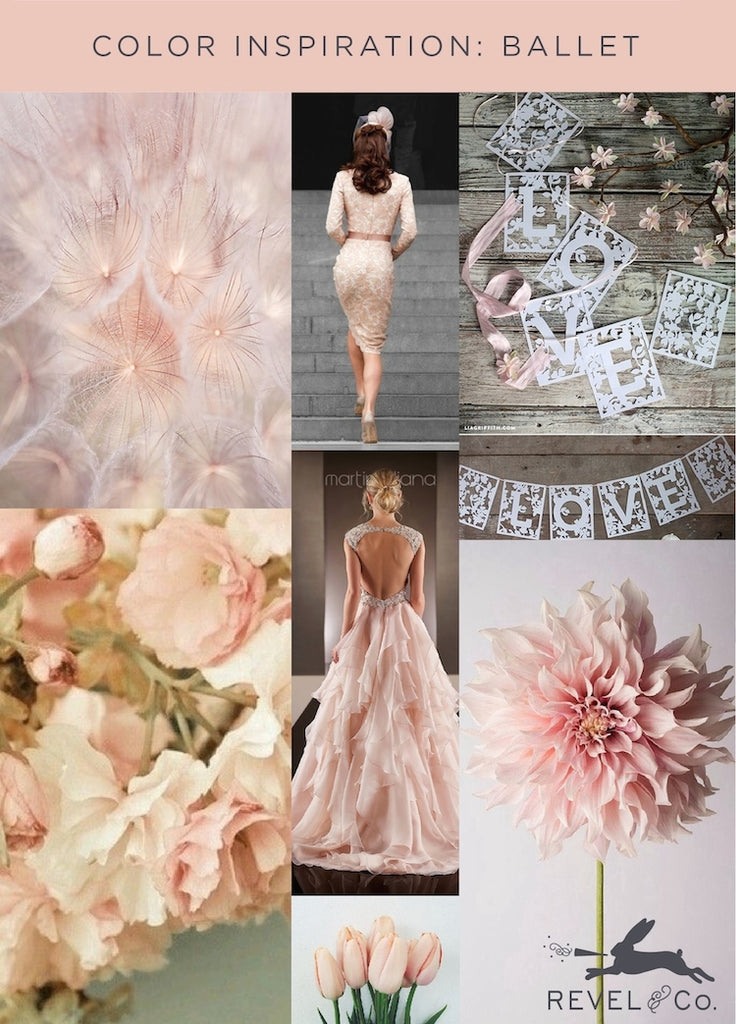 Revel & Co.'s Color Inspiration: Ballet