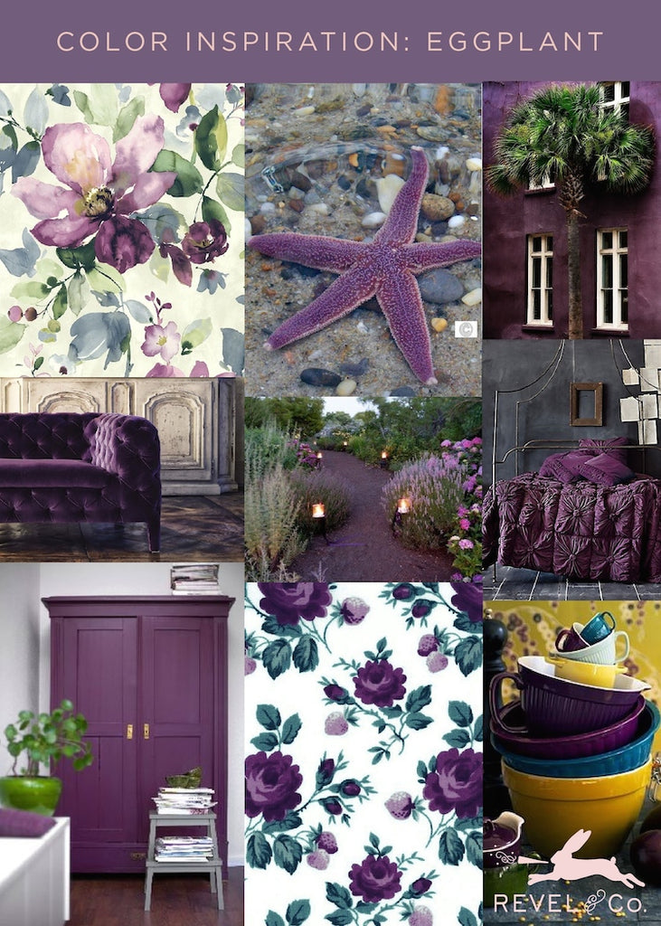 Revel & Co.'s Color Inspiration: Eggplant