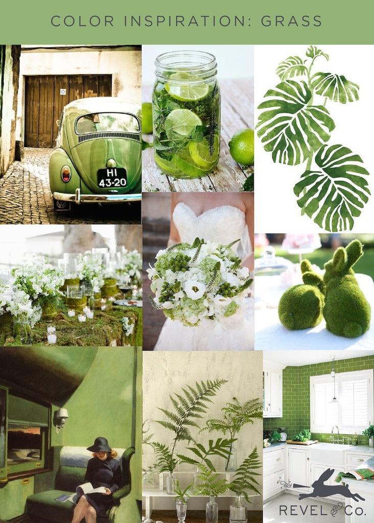 Revel & Co's Color Inspiration: Grass