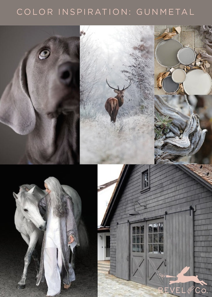 Revel & Co's Color Inspiration: Gunmetal