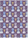 Best in show equestrian gift wrap with ribbons and trophies by Revel & Co.