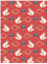 Fox hunt equestrian wrapping paper by Revel & Co.