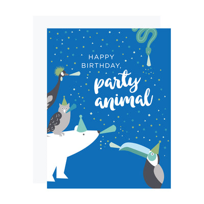 Polar Bear Party Animal Birthday Card by REVEL & Co.