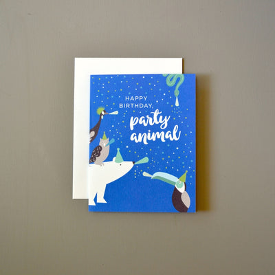 Polar bear birthday card by Revel & Co.