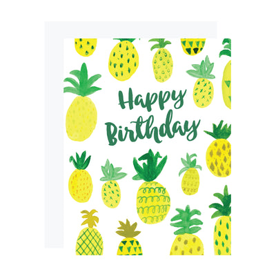 Pineapple Birthday Card by REVEL & Co.