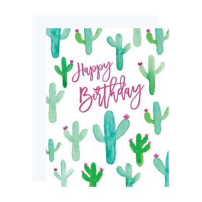 Saguaro Cactus Birthday Card by REVEL & Co.