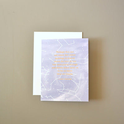 Inuit proverb sympathy card by Revel & Co.