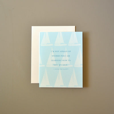 Nautical support card by Revel & Co.