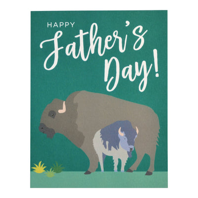 Buffalo Father's Day card by REVEL & Co.