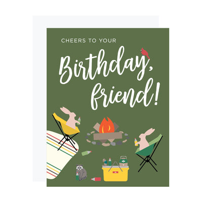 Campfire birthday card by REVEL & Co.